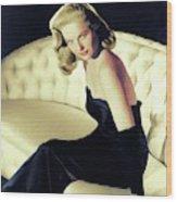 Martha Hyer, Vintage Actress Wood Print
