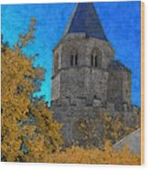 Medieval Bell Tower 6 Wood Print