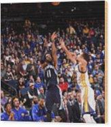 Memphis Grizzlies V Golden State Wood Print