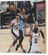 Memphis Grizzlies V San Antonio Spurs - Wood Print