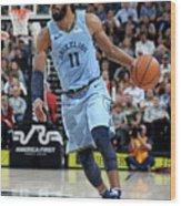 Memphis Grizzlies V Utah Jazz Wood Print