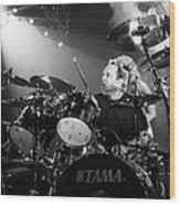 Metallica Live Wood Print