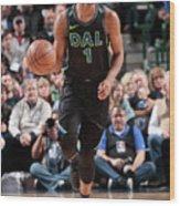 Miami Heat V Dallas Mavericks Wood Print