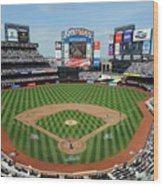 Milwaukee Brewers V New York Mets Wood Print