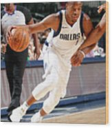 Milwaukee Bucks V Dallas Mavericks Wood Print