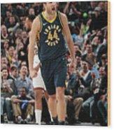 Milwaukee Bucks V Indiana Pacers Wood Print