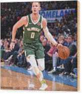 Milwaukee Bucks V Oklahoma City Thunder Wood Print