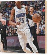 Milwaukee Bucks V Orlando Magic Wood Print