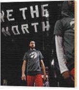 Milwaukee Bucks V Toronto Raptors Wood Print