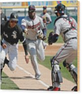Minnesota Twins V Chicago White Sox Wood Print