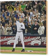 Mlb Sep 11 Orioles At Yankess - Derek 1 Wood Print