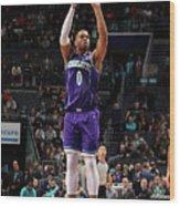 New Orleans Pelicans V Charlotte Hornets Wood Print