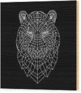 Night Tiger Wood Print