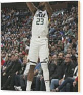 Oklahoma City Thunder V Utah Jazz Wood Print