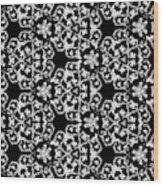Ornate Pattern Drawing Wood Print