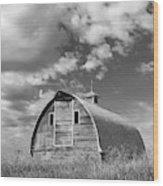 Palouse Barn 9650 Wood Print
