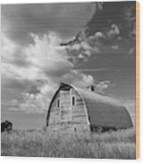 Palouse Barn 9652 Wood Print