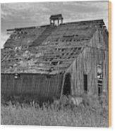 Palouse Barn 9933 Wood Print
