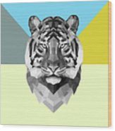 Party Tiger Wood Print