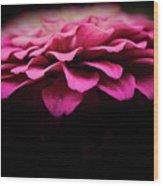 Petal Pusher Wood Print