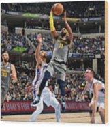 Philadelphia 76ers V Memphis Grizzlies Wood Print