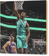 Phoenix Suns V Charlotte Hornets Wood Print