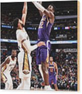 Phoenix Suns V New Orleans Pelicans Wood Print