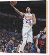 Phoenix Suns V Oklahoma City Thunder Wood Print
