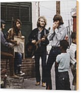 Photo Of Creedence Clearwater Revival Wood Print
