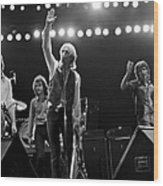 Photo Of Tom Petty & The Heartbreakers Wood Print