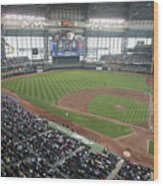 Pittsburg Pirates V Milwaukee Brewers Wood Print