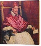 Pope Innocent X Wood Print