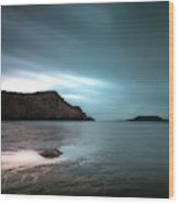 Rhossili Bay And Worms Head Wood Print
