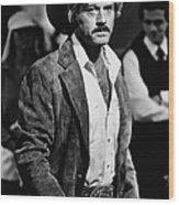 Robert Redford Stars In The Wood Print