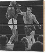 Rocky Marcianoezzard Charles Wood Print