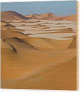 Rub Al-khali Empty Quarter Wood Print