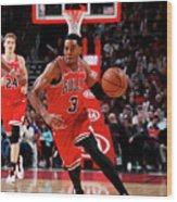 Sacramento Kings V Chicago Bulls Wood Print