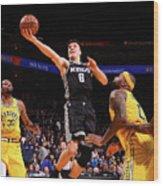 Sacramento Kings V Golden State Warriors Wood Print