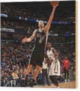 San Antonio Spurs V New Orleans Pelicans Wood Print