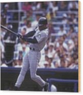 Seattle Mariners V New York Yankees Wood Print