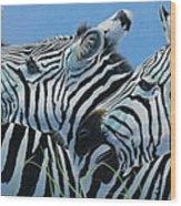 Serengeti Serenade Wood Print