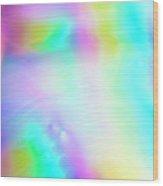 Shiny Multi Colored Background Wood Print
