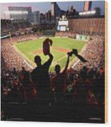 St. Louis Cardinals V Baltimore Orioles Wood Print