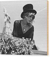 Stevie Nicks Wood Print