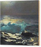 Sunlight On The Coast - Digital Remastered Edition Wood Print