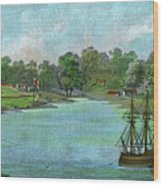 Sydney Cove, New South Wales Wood Print
