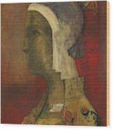 Symbolic Head, 1890 Wood Print