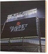Target Field Previews Wood Print