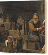 The Alchemist  Wood Print