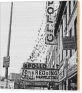 The Apollo Theater In Harlem. Otis Wood Print
